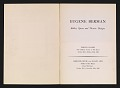 View Eugene Berman, ballet, opera and theatre designs digital asset: pages 1