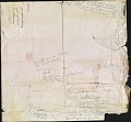 View Jay DeFeo mail art to Wallace Berman digital asset: verso