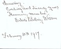 View Edith Bolling Wilson letter to Clifford Berryman digital asset: page 3