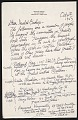 View William Zorach, Brooklyn, N.Y. letter to Isabel Bishop digital asset number 0