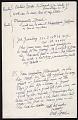View William Zorach, Brooklyn, N.Y. letter to Isabel Bishop digital asset: verso