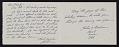 View Gordon Kensler Christmas card to Kathleen Blackshear and Ethel Spears digital asset: inside