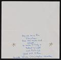 View Henrietta Mueller Christmas card to Kathleen Blackshear and Ethel Spears digital asset: inside