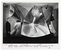 View Francois Baschet with his sculpture digital asset number 0