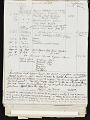 View Oscar Bluemner painting diary digital asset: verso