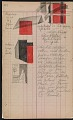 View Oscar Bluemner painting diary digital asset: page 47
