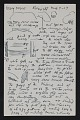 View Oscar Bluemner notes and diagram for a landscape painting of Bloomfield digital asset number 1