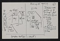 View Oscar Bluemner notes and diagram for a landscape painting of Bloomfield digital asset number 0