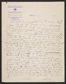 View Helen Blumenschein letter to Ernest Leonard Blumenschein digital asset number 1
