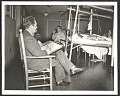 View Peter Blume sketching patients at Halloran General Hospital in Staten Island digital asset number 0