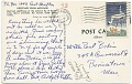 View Adolph Gottlieb to Paul Bodin digital asset: postcard back