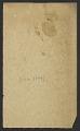 View Solon H. Borglum digital asset: verso