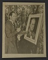 View George Gershwin painting portrait of Arnold Schoenberg digital asset number 0
