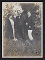 View Isabel Lyon, Albert Bigelow Paine, and Gerome Brush in Dublin, Ireland digital asset: front