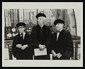 View Raphael Soyer, Adelyn Dohme Breeskin, and Joseph Hirshhorn receiving honorary degrees at the Maryland Art Institute digital asset number 0