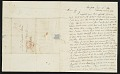 View Samuel Finley Breese Morse, New York, N.Y. letter to Elizabeth Breese digital asset: page 1
