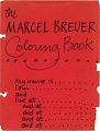 View The Marcel Breuer coloring book digital asset: page 1