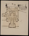 View Plan of: St. John's Abbey Church, monastic wing, studdent dormitory, and projected library, Collegeville, Minnesota digital asset number 0