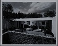 View Photograph of walled-in yard and living room of Rufus Stillman House II in Litchfield digital asset number 0