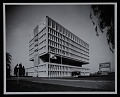View Exterior photograph of corporate headquarters of the Armstrong Rubber Company, New Haven, Connecticut digital asset number 0