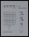 View Plan for the administrative and engineering elevation, IBM offices, laboratories, and manufacturing facility in Boca Raton, Florida digital asset number 0