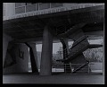 View Photograph of emergency staircase, UNESCO Headquarter, Paris, France digital asset number 0