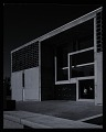View Exterior photograph of University Library at St. John's Abbey and University, Collegeville, Minnesota digital asset number 0
