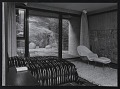 View Photograph of Dr. Koerfer's bedroom and interior court of Koerfer House, Moscia, Switzerland digital asset number 0
