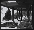 View Photograph from first floor of covered terrace looking West, Koerfer House, Moscia, Switzerland digital asset number 0