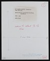 View Photograph of site plan for 175 Park Avenue Project II, New York City digital asset: verso