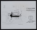 View Photograph of plans for cross section and elevation of Physics Building, University of Virginia digital asset number 0