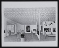 View Photograph of concept drawing for Whitney Museum of American Art exhibition space digital asset: front