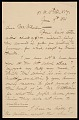 View John George Brown letter to Hayden W. Wheeler digital asset number 0