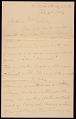 View John George Brown letter to Mrs. George Alfred Joslyn digital asset number 0