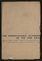 View The Pennsylvania Academy of the Fine Arts winter school circular digital asset: cover
