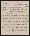 View Jackson Pollock letter to Louis Bunce digital asset number 0