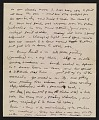 View Jackson Pollock letter to Louis Bunce digital asset number 1