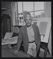 View Photograph of Louis Bunce in his studio digital asset number 0