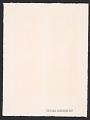 View Hans Gustav Burkhardt christmas card to Alan Leslie digital asset: verso