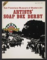View Official magazine of the San Francisco Museum of Modern Art artists' soap box derby digital asset: cover