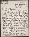 View Edward Weston letter to Holger Cahill digital asset number 0