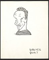 View Reproduction of a caricature of Walter Quirt by Aline Fruhauf digital asset number 0