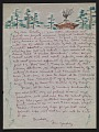 View Eugenie Gershoy letter to Dorothy Canning Miller digital asset: page