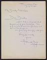 View Hans Hofmann letter to Dorothy Canning Miller digital asset: page