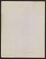 View Hans Hofmann letter to Dorothy Canning Miller digital asset: verso