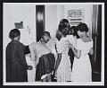 View African American children visiting Raleigh WPA Art Center digital asset number 0