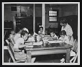 View Photograph of children in art class, Children's Art Gallery, Washington, D.C. digital asset number 0