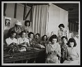View Photograph of basketry class at the Delta Art Center, Greenville, Mississippi digital asset number 0