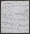 View Beauford Delaney letter to Lawrence Calcgano, Paris digital asset number 1