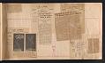 View Alexander Calder scrapbook of press clippings digital asset: page 8